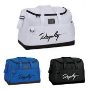 promotional air mesh 18 duffel