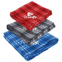 31422 - Plaid Fleece Blanket