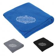 promotional fleece blanket