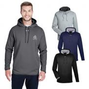 promotional under armour mens double threat armour fleece® hoodie