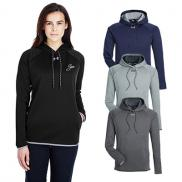 promotional under armour ladies double threat armour fleece® hoodie