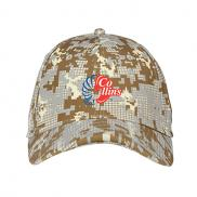 promotional under armour curved bill cap - digi camouflage