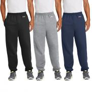 promotional port & company® - essential fleece sweatpant with pockets