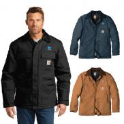 promotional carhartt duck traditional coat