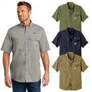 promotional carhartt force ridgefield solid short sleeve shirt
