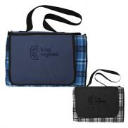 promotional extra large picnic blanket tote