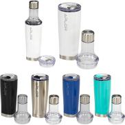 promotional 22 oz. duo copper vacuum bottle & tumbler