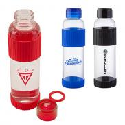 promotional 18 oz. krystal glass bottle
