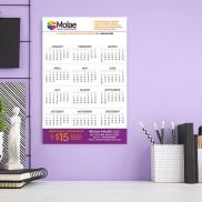 promotional papersplash 11 x 17  wall calendar
