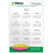 promotional papersplash 5 3/8 x 8 3/8 wall calendar