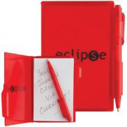 promotional composition jotter pad with pen