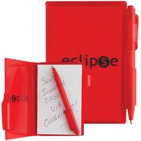 8858R - Composition Jotter Pad with Pen