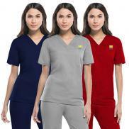 promotional dickies eds signature unisex v-neck top