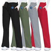 promotional cherokee workwear originals womens flare drawstring pants