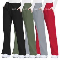 Cherokee Workwear Originals Women's Flare Drawstring Pants