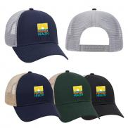 promotional cotton twill mesh back trucker hat