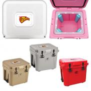 promotional lit® 22 qt. cooler