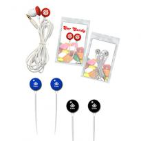 32096 - Ear Candy - Round Earbuds