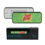 promotional evrybox 4400mah charger + speaker