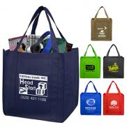 promotional mega grocery shopping tote