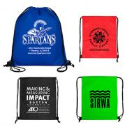 promotional economy drawstring cinch pack