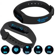 promotional fitness & activity tracker wristband