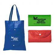 promotional cove fold-up tote bag