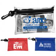 promotional large zipper storage pouch bag