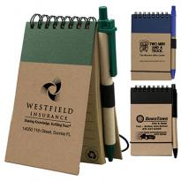 32367 - Arcata Recycled Jotter Notepad Notebook w/Pen