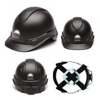 32395 - Ridgeline Graphite Pattern Black Hard Hat