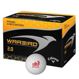 Callaway® Warbird 2.0 Golf Ball Std Serv