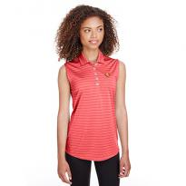 32492 - Puma Golf Ladies' Rotation Stripe Sleeveless Polo