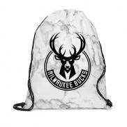 promotional marble non-woven drawstring backpack