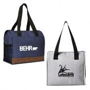 promotional asher 12 can cooler tote