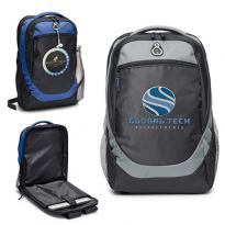 32588 - Hashtag Backpack with Back Access Laptop Compartment