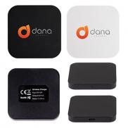 promotional qi square wireless charging pad