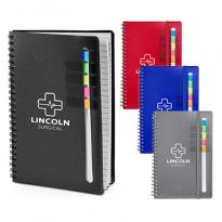 32623 - Semester Spiral Notebook with Sticky Flags