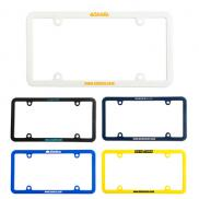 promotional universal license plate frame