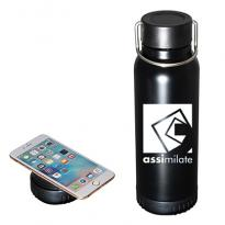 32649 - 22 oz. Hydration Charging Station Stainless Steel Bottle