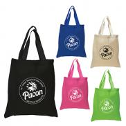 promotional 5.5 oz. economy cotton canvas tote