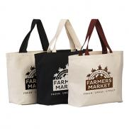 promotional 11.5 oz. hillsboro canvas tote