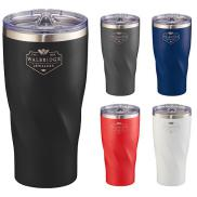 promotional 20oz hugo copper tumbler with powder coating