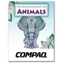32892 - Animals Stress Relieving Coloring Book for Adults