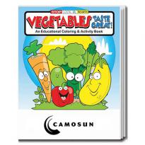 32896 - Vegetables Taste Great Coloring Book