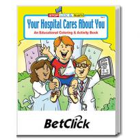 32897 - Your Hospital Cares About You Coloring Book