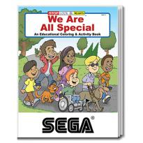 32899 - We Are All Special Coloring Book