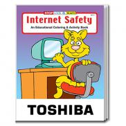 promotional internet safety coloring book