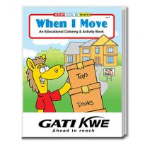 32904 - When I Move Coloring Book