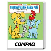 32905 - Healthy Pets are Happy Pets Coloring Book