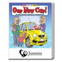 32906 - Our New Car Coloring Book